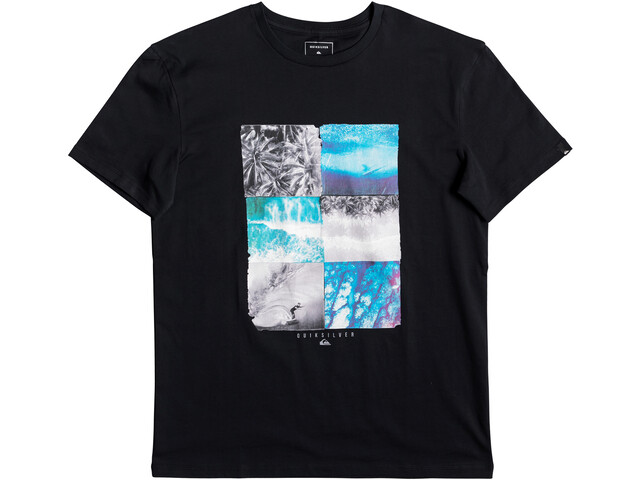 Quiksilver Photo Fun Maglietta Uomo, black